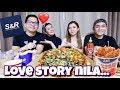 S&R PIZZA AND CHICKEN MUKBANG | Q&A sa LOVESTORY NILA PAPA and ATE KAREN