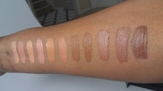 HAUL:: L.A. Girl HD PRO Concealers + Swatches