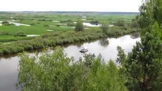 Сплав на плоту по реке Десна 2013 год(Сплав на плоту