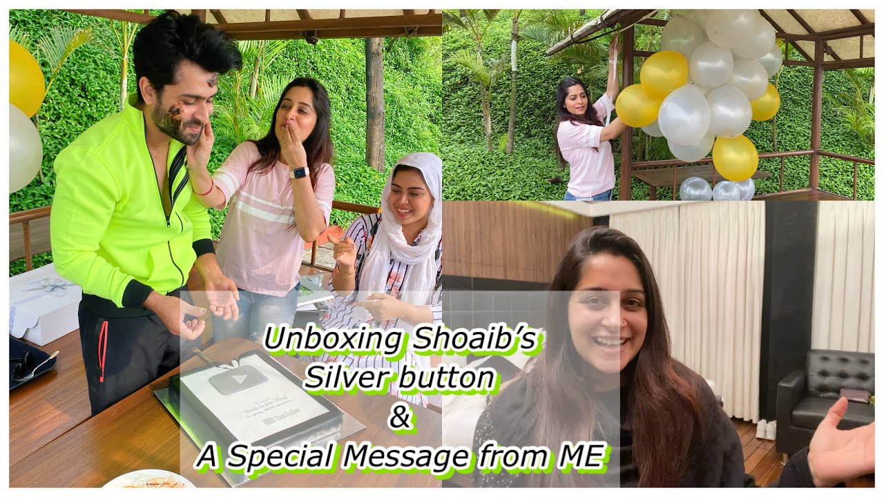 Prep For Unboxing Shoaibs Silver Button & A Special Message From Me| Dipika Kakar Ibrahim