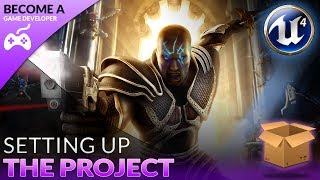 Setting Up Our Project - #2 Creating A Role Playing Game With Unreal Engine 4