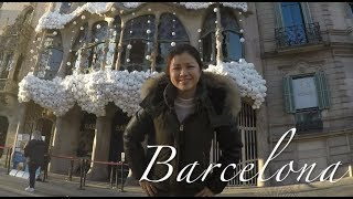 A Day in Barcelona| Flying business for the price of economy with Aeroflot