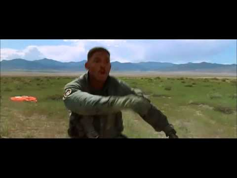 Independence Day Desert Scene
