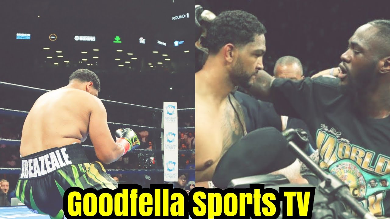 Dominic Breazeale Leaves Instagram After Knockout Loss To Deontay