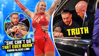 Lana ACCUSES Roman Reigns Of Doing THIS To Her In WWE Roman Speaks Up