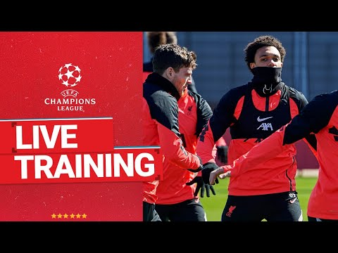 Champions League training: Liverpool warm up for Real Madrid