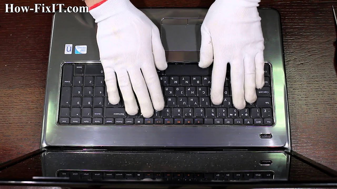 Dell Inspiron 17R N7010 disassembly video and photo guide