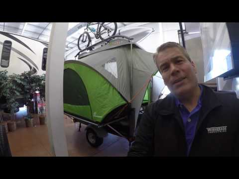 2016 Sylvan Sport Go Toy Hauler and Tent only 840 Pounds!