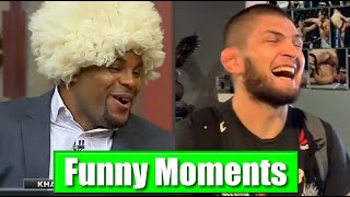 Khabib & DC FUNNIEST Moments Ever 😂