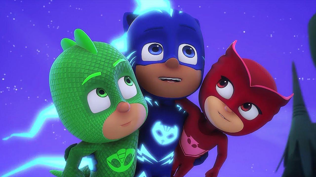 Герои в масках - детские передачи - мультики для детей ...