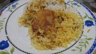 אורז עם שכבות תפוחי אדמה ובצל