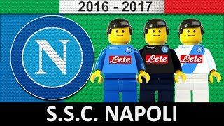 SSC Napoli 2016/17 • Lego Football Film 2017 • Serie A • Champions League • TIM Cup
