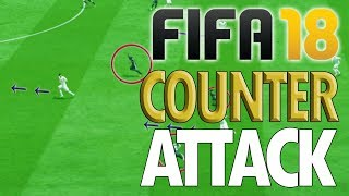 Video HOW TO SCORE QUICKLY!! - Fifa 18 Counter Attack Tutorial - WHEN TO COUNTER download MP3, 3GP, MP4, WEBM, AVI, FLV Agustus 2018