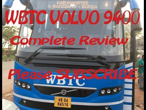WBTC/CTC VOLVO 9400 review (Karunamoyee- Durgapur-Asansol) Safe/not