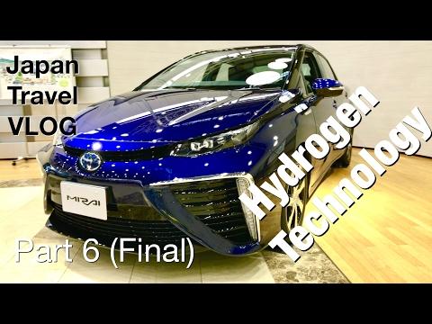 Mobil Hidrogen - Japan Travel VLOG 6