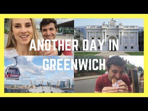 GREENWICH IS ALWAYS A GOOD IDEA || London Couple Travel Vlog 022
