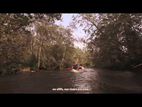 Vidzeme's rivers - adventure 'round every bend (English subtitles)