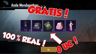 GRATIS! | Cara mendapatkan kartu ganti nama,skin tas keren,dan Baju1 Set secara GRATIS | Pubg Mobile