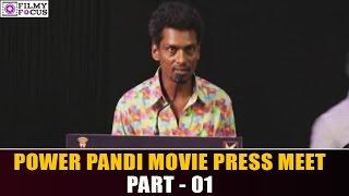 Power Pandi Press Meet || Dhanush || Filmy Focus  || Part 01