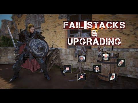 Fail Stacks & Upgrading Items - Black Desert Online