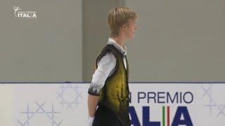 🥇 (189.27) Daniel Grassl - FS - Gran Premio Italia 2020/21 - Prima Tappa - Bergamo 25.10.2020 🇮🇹