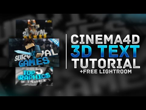 how to get cimena 4d lightroom