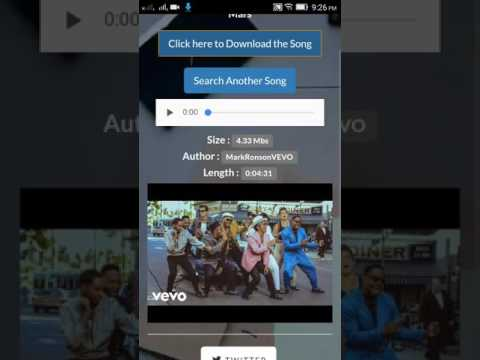 How to download songs without any Ads or Links in one click?Here is the solution.