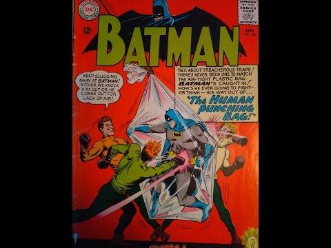 COMIC GRADING TUTORIAL SILVER AGE BATMAN DC COMICS