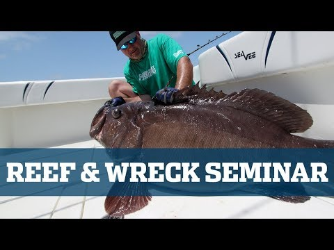 Reef & Wreck Seminar - Florida Sport Fishing TV