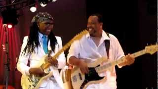 Nile Rodgers & Chic, Chic Cheer/My Forbidden Lover, Damrosch Park, NYC 7-25-12
