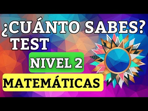 test-de-matemÁticas-#nivel-2-#test-¿cuÁnto-sabes-de-matemÁticas?