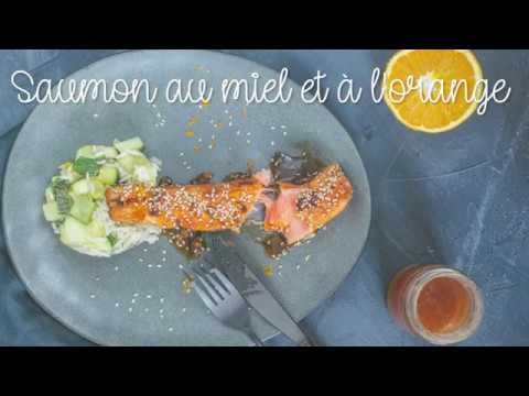 saumon-caramélisé-au-miel-et-à-l'orange
