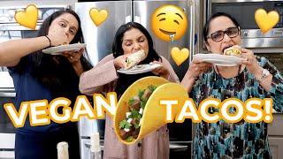 Cooking with the Pandus! | Vegan Tacos with Mama Pandu