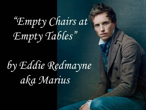 Empty Chairs At Empty Tables - Eddie Redmayne