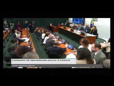SEGURIDADE SOCIAL E FAMÍLIA - Reunião Deliberativa - 18/04/2018 - 10:18