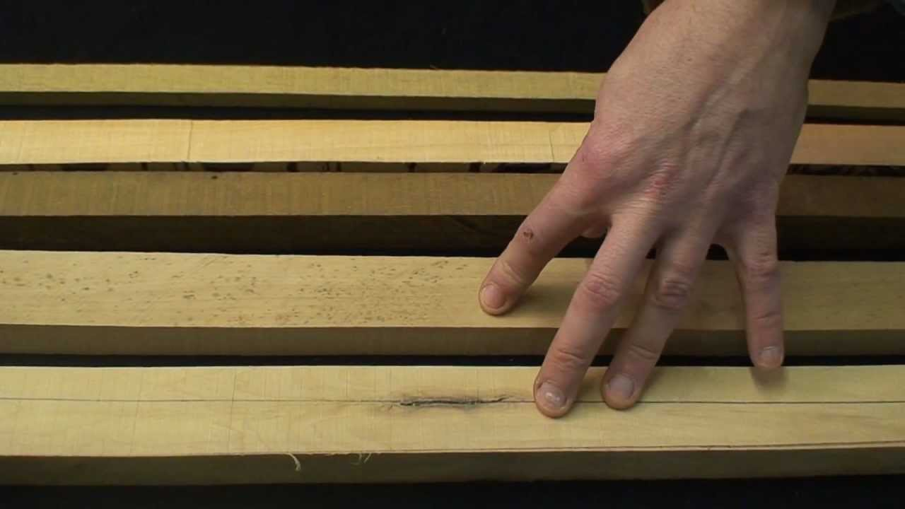 How To Make A Longbow Wood Selection Youtube