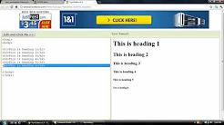 Popular W3Schools & HTML videos - YouTube