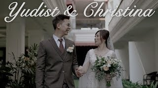 AKHIRNYA SAH!! YUDIST & CHRISTINA WEDDING DAY!!!