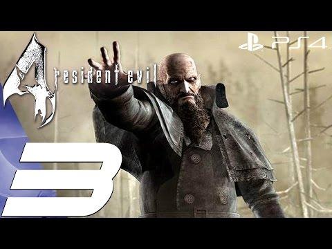 Resident Evil 4 (PS4) - Gameplay Walkthrough Part 3 - Chief Mendez Boss [1080P 60FPS]