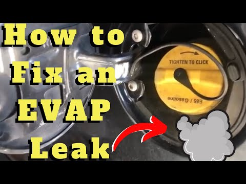 How to find an EVAP leak. Bad gas cap ??