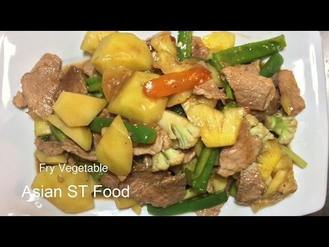 how-to-make-fry-vegetable,-easy-food-for-dinner,-asian-food
