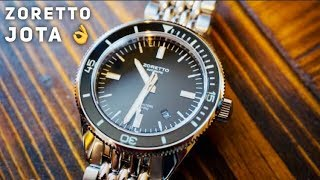 Zoretto Jota 1000M Dive Watch Review - the BEST micobrand?