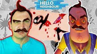 ПРАВИЛЬНОЕ ПРОХОЖДЕНИЕ возможно! ПРИВЕТ СОСЕД Альфа 1 мультяшный хоррор игра Hello Neighbor Alpha 1