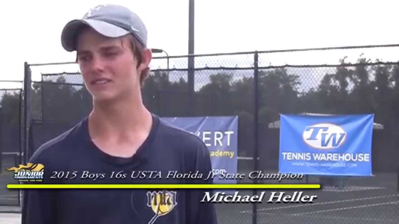 Michael Heller - Boys 16s Champion 2015 USTA Florida Jr ...