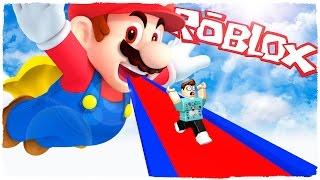 👉 ¡ESCAPE DE SUPER MARIO EN ROBLOX! MARIO OBBY