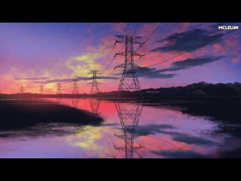Photoshop Painting – Evening Pylon Reflection