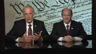 Sen. Tom Carper and Sen. Chris Coons - Delaware Constitution Day PSA - 2015