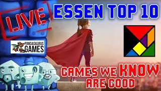 Essen Top 10: Games We KNOW Are Good Video