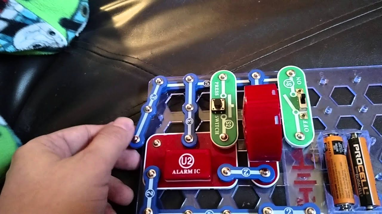 Snap Circuits Siren Youtube Extreme Sc 750 Review