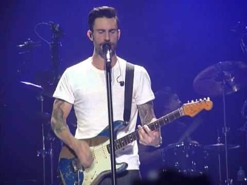 Maroon 5 I Wont Go Home Without You Manchester 13012014 Youtube
